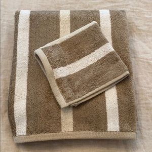 Set of 2 Hotel Collection Micro Cotton Towels